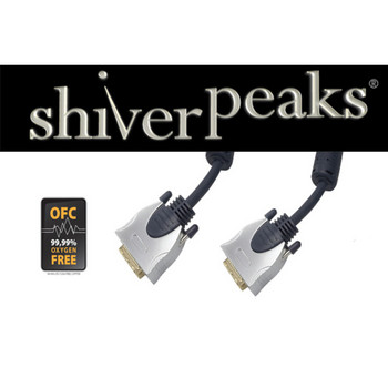 sp-PROFESSIONAL 2x DVI-D Stecker, 1,0m