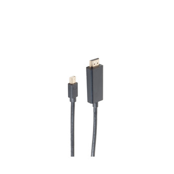 Mini DP 1.4 Kabel, mDP-HDMI, 4K60Hz, 1,0m